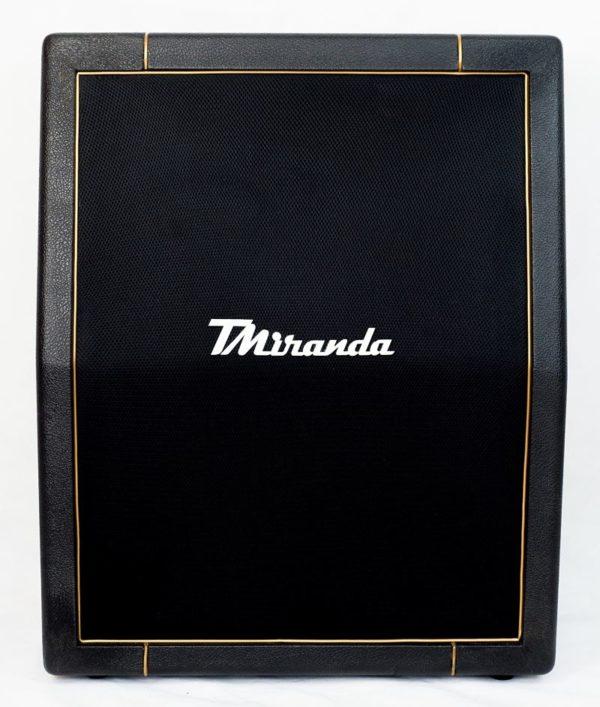 Speaker Cabinet 2 x 12 vertical Black- gold - Amplificadores valvulados & pedais de efeito - TMiranda