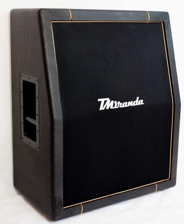 Speaker Cabinet 2 x 12 vertical Black- gold - Amplificadores valvulados & pedais de efeito - TMiranda 1