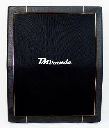 Speaker Cabinet 2 x 12 vertical Black- gold - Amplificadores valvulados & pedais de efeito - TMiranda 2