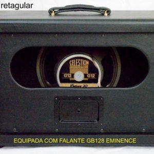 Speaker Cabinet 1×12 black retangular