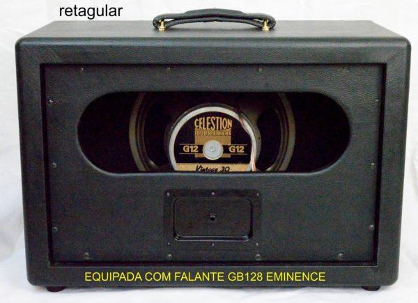 Speaker Cabinet 1x12 black retangular - Amplificadores valvulados & pedais de efeito - TMiranda