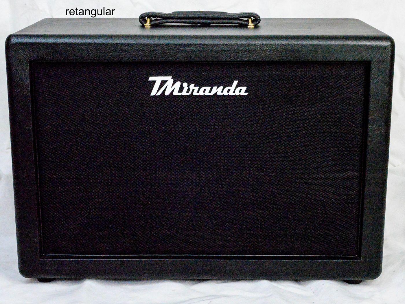 Speaker Cabinet 1x12 black retangular - Amplificadores valvulados & pedais de efeito - TMiranda 1