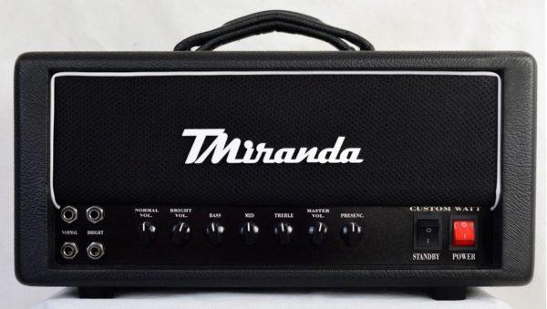 Amplificador valvulado Custom Watt 50 TMiranda - Amplificadores valvulados  - TMiranda