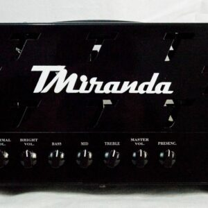 Amplificador valvulado Custom Watt 50 TMiranda