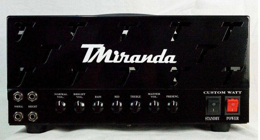Amplificador valvulado custom watt TMiranda - Amplificadores valvulados  - TMiranda 1