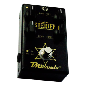 Sheriff TMiranda- pedal de distorção- Marshall in a box