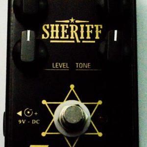 Sheriff TMiranda- pedal de distorção- Marshall jcm 800 in a box
