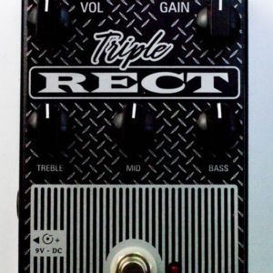 Pedal de distorção Triple rect – Mesa Boogie in a box