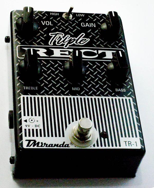 Triple rect - Mesa Boogie in a box - Amplificadores valvulados  - TMiranda 3