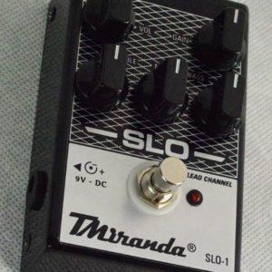 Pedal de distorção Soldano Slo pedal