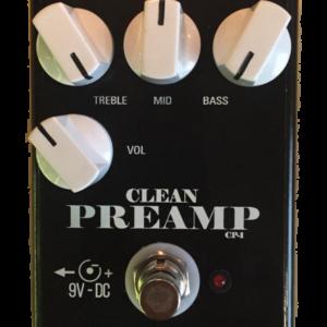 Bass clean preamp – contra baixo